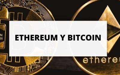 Si el bitcoin atrapa al ethereum se disparará hasta los 100.000 dólares, según 'Bloomberg'